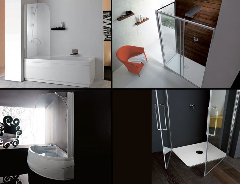 Box doccia e vasche da bagno box doccia e vasche da for Arredo bagno carpenedolo